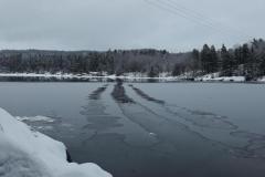 Isen fryser