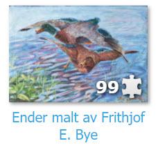 Ender malt av Frithjof E. Bye