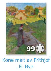 maleri av Frithjof E. Bye